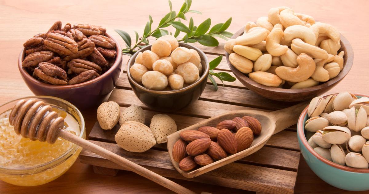 потребление орехов может улучшить потенцию